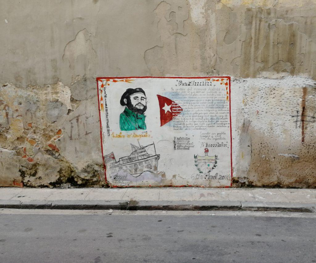 Grossmutter auf Kuba